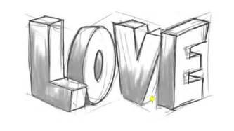 draw 3d online imagenes de graffitis de love en 3d