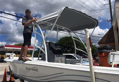 custom boat covers pompano beach custom boat radar arch fabrication in pompano and fort