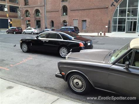 rolls royce ghost spotted in manhattan new york on 03 16 2013