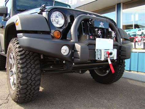 2012 Jeep Wrangler Bumper On This 2012 Jeep Wrangler Jk We Installed A Aev Front