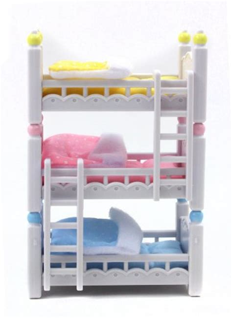 calico critters beds calico critters triple baby bunk beds new ebay