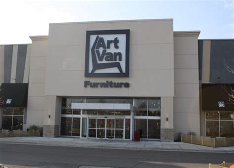 art van couch art van furniture great lakes crossing outlets