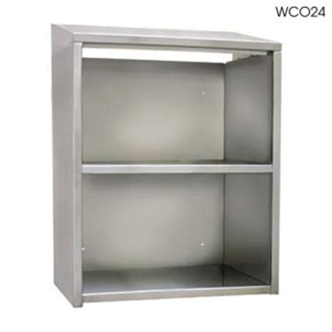 open front storage cabinets glastender wc036 36 quot open front wall cabinet etundra