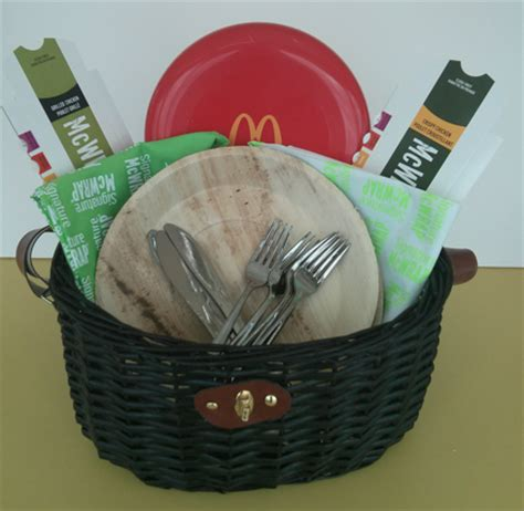 Picnic Basket Giveaway - mcdonald s signature mcwrap launches in canada mmv giveaway for a picnic kit