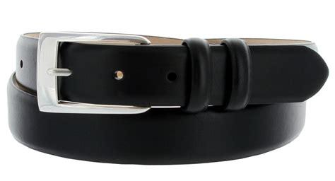 8628 s leather dress belt 1 1 8 quot wide
