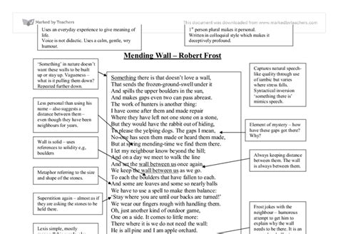 Mending Wall Theme Essay by Essay Mending Wall Writerkesey X Fc2