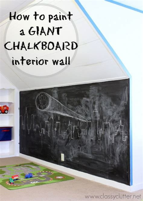 chalkboard paint directions how to make a chalkboard wall clutter bloglovin