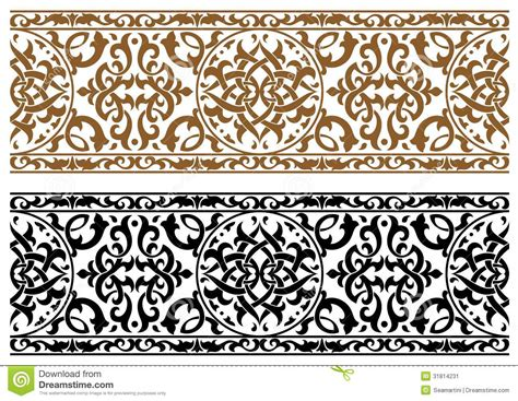 abstract arabic pattern abstract arabic ornament stock image image 31814231