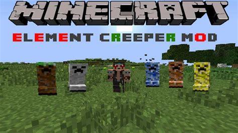 mod in minecraft youtube minecraft element creeper mod spotlight youtube
