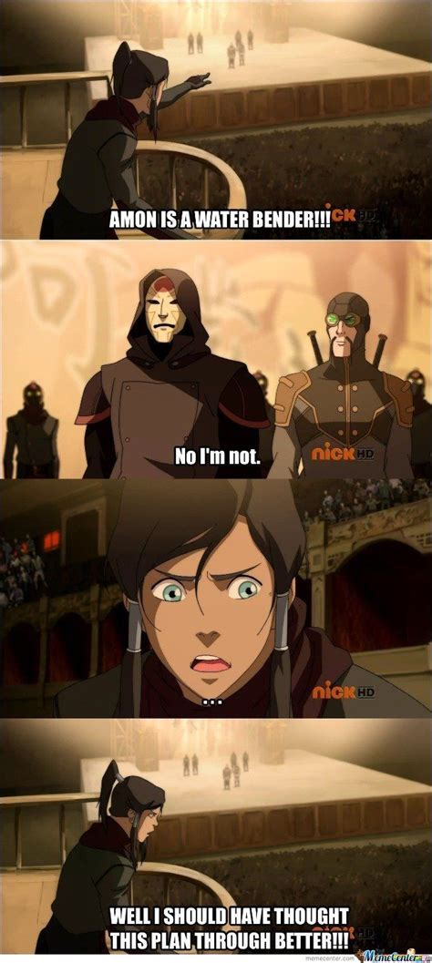Legend Of Korra Memes - korra s logic by samarth meme center