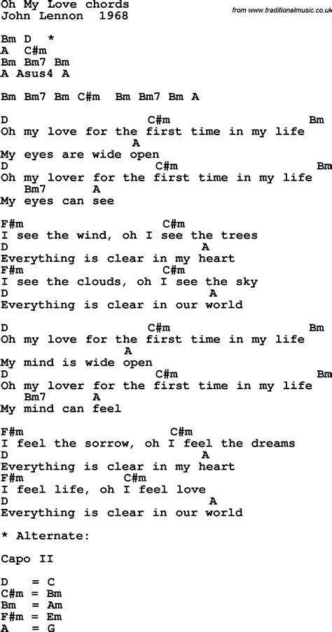 my my song song lyrics with guitar chords for oh my