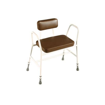 Chair Raisers For Bar Stools by Bariatric Perching Stool With Padded Back Sitting