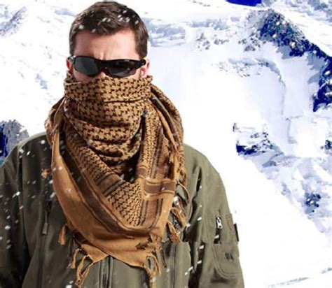 how to wear a shemagh from tactical to tacticool appearance