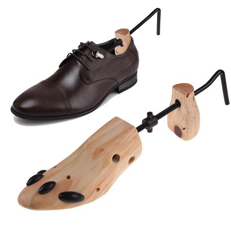shoe stretcher new wooden adjustable 2 way professional shoe