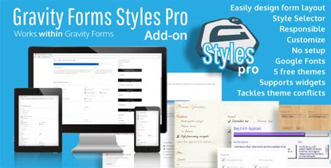 Gravity Forms Styles Pro Add On By Warplord Codecanyon Gravity Forms Templates