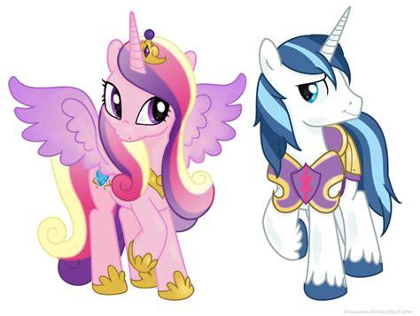 my little pony princess cadence shining armor princess cadance and shining armor by bswprecious on