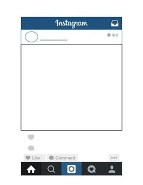 layout instagram gratis instagram template classroom ideas pinterest