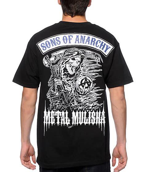 Tshirt Nike Merch Must metal mulisha x sons of anarchy reaper t shirt