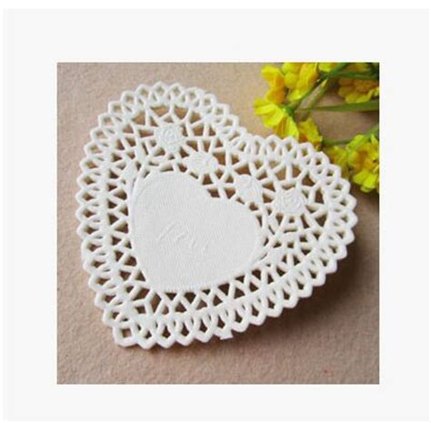 Paper Doyleys 14 5 Termurah Paper Doli Paper Dolly wholesale 4 quot lace paper doilies wedding doyleys free shipping in mats pads from home