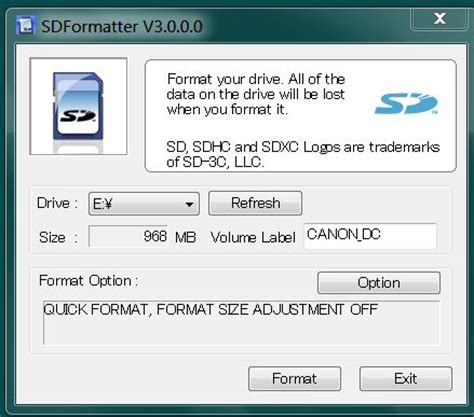 best sd card formatter best way to format sd memory card sdformatter now