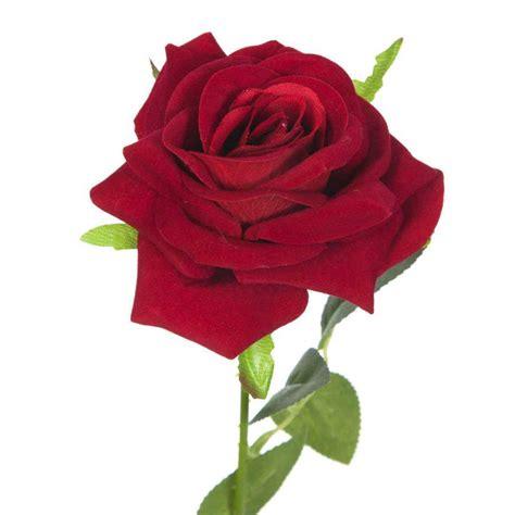 imagenes de rosas terciopelo flor rosa terciopelo artificial roja 63 183 flores artificiales