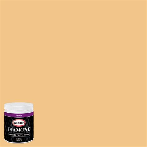 glidden 8 oz hdgo59 palomino gold eggshell interior paint with primer tester hdgo59d