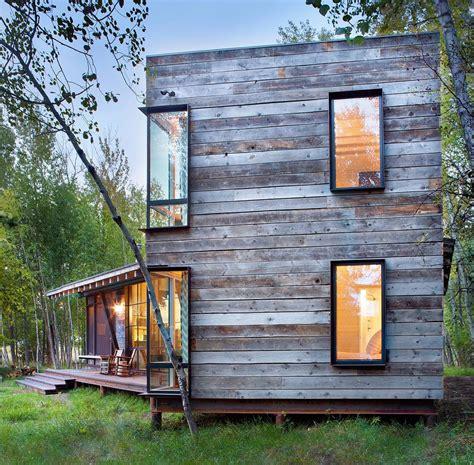 modern cabin modern rustic cabin montana
