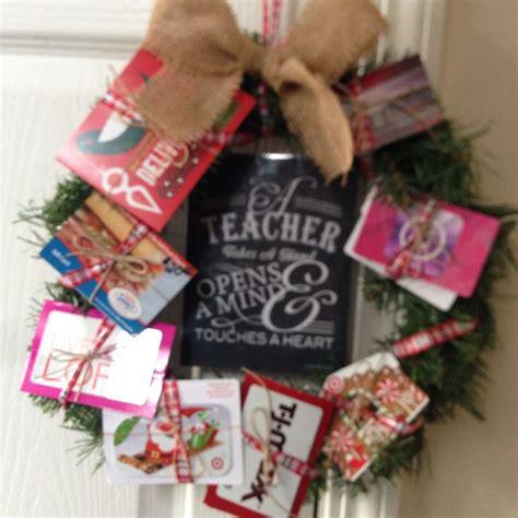 Gift Card Wreath - gift card wreath room mom pinterest