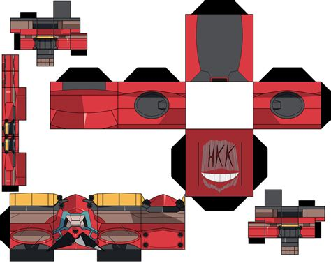 Gurren Lagann Papercraft - gurren lagann p1 by hollowkingking on deviantart