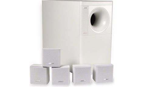 Bose Acoustimass 6 Speaker System bose 174 acoustimass 174 6 series ii white home theater