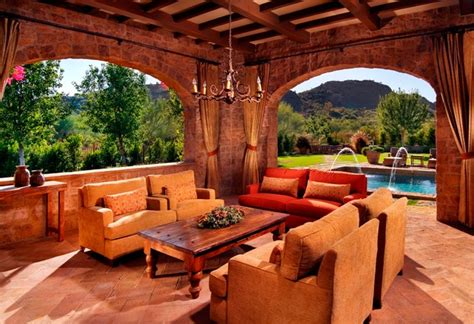 tuscan inspired backyards paradise valley tuscan style