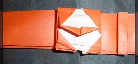 Origami For Intermediates - how to make an origami wrist for intermediate