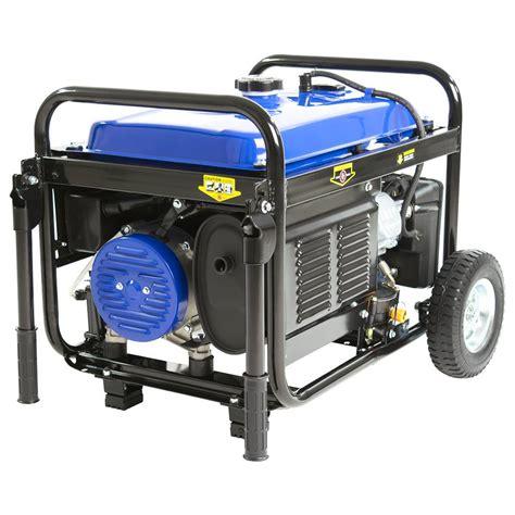 Small Propane Generators For Home Use Duromax Xp5500eh 5 500 Watt 7 5 Hp Gasoline Propane