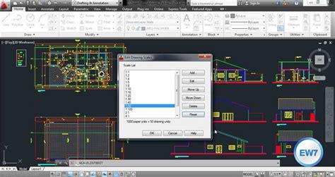 zoom escala layout autocad como ajustar a escala no autocad youtube