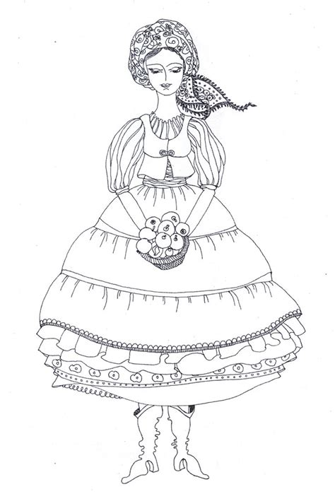 Ukrainian Coloring Pages 17 Best Images About Babas Coloring Book On Pinterest by Ukrainian Coloring Pages