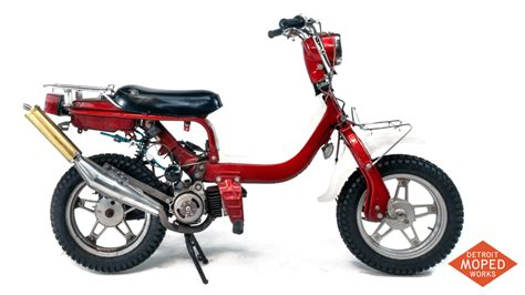 Moped Suzuki 1982 Suzuki Fz50z Kickstart Noped Sold Detroit