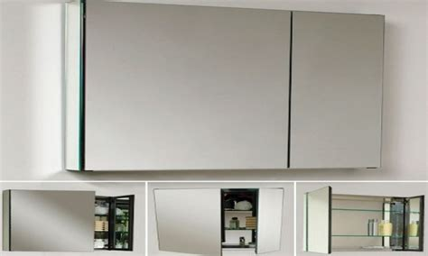 frameless mirrored medicine cabinet triple mirror medicine cabinets silver framed mirrored
