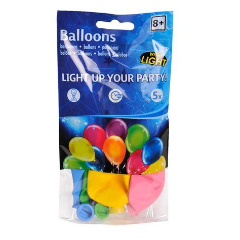 multi color led multi color led ballonnen 5st kopen lobbes nl