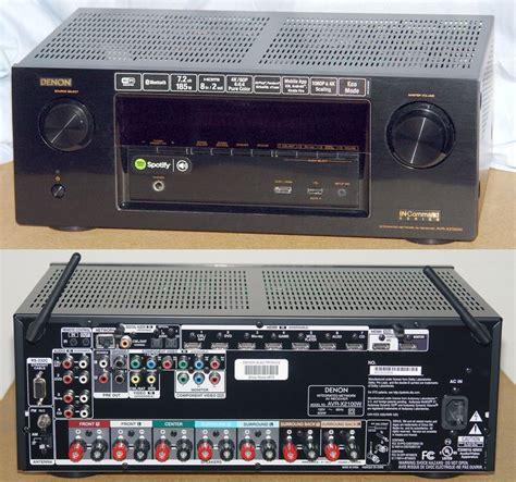 denon announces   command home theater receivers