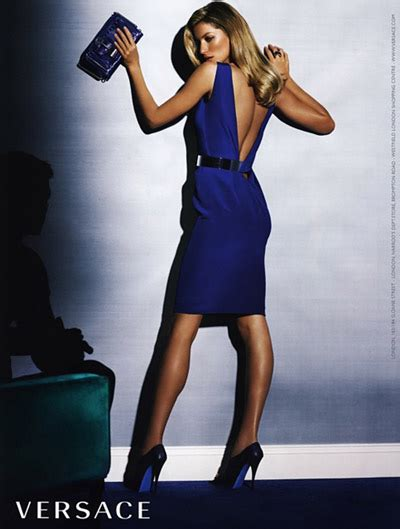 Fab Ad Gisele Bundchen For Versace by Gisele Bundchen For Versace By Mario Testino