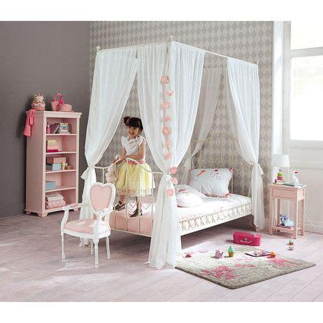 mesita de noche infantil nube blanca maisons du cama con dosel 90 215 190 de metal marfil camas con dosel