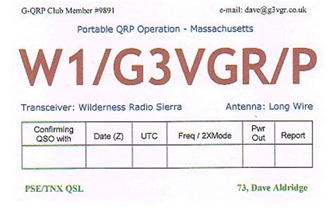how to make qsl cards g3vgr s qsl cards