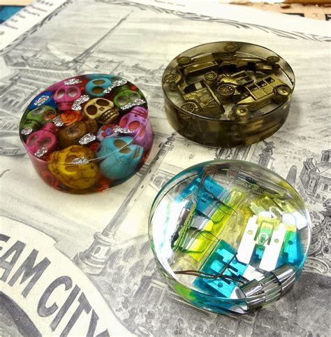 resin crafts projects resin crafts paperweights with easycast resin