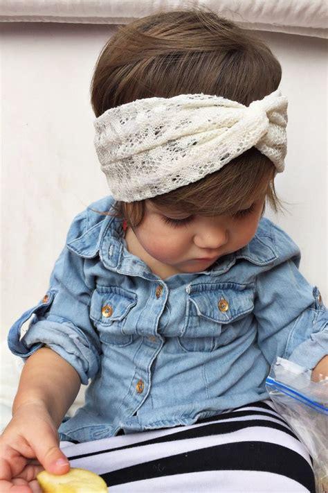 Turban Baby 03 black tiles baby turban headband crochet turban crochet