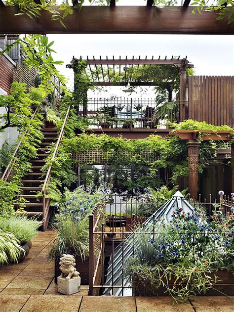 Rooftop Gardening by David Dangerous Amazing Roof Garden