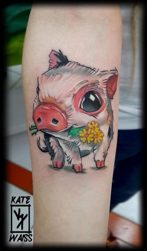 piglet tattoo designs best 25 pig tattoos ideas on piglet