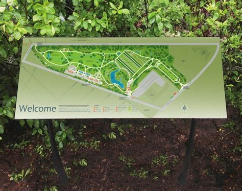 Botanical Garden Signs Project Image 1 For Signs Wayfinding Botanic Garden Parks Signage Pinterest