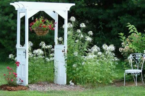 Garden Arbor With Door Doors Arbor Garden