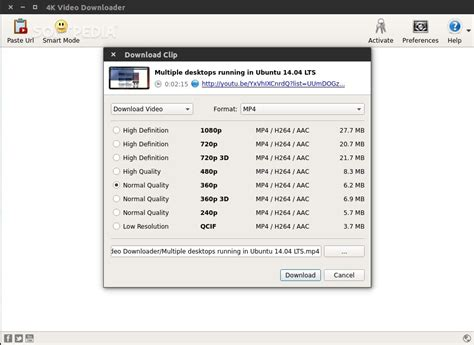 download youtube linux 4k video downloader for linux review youtube is no match