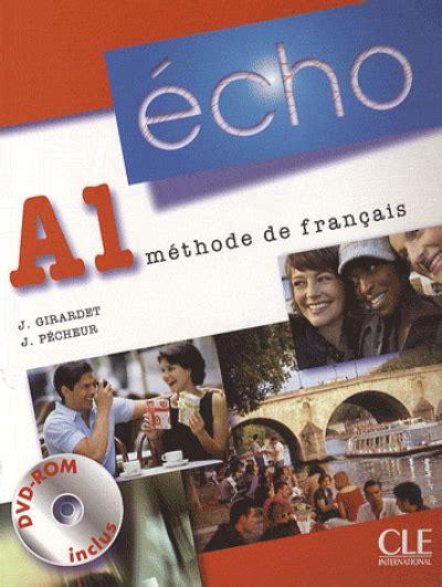 libro promenade mthode de franais echo a1 m 233 thode de fran 231 ais avec 1 dvd jacky girardet comprar libro en fnac es